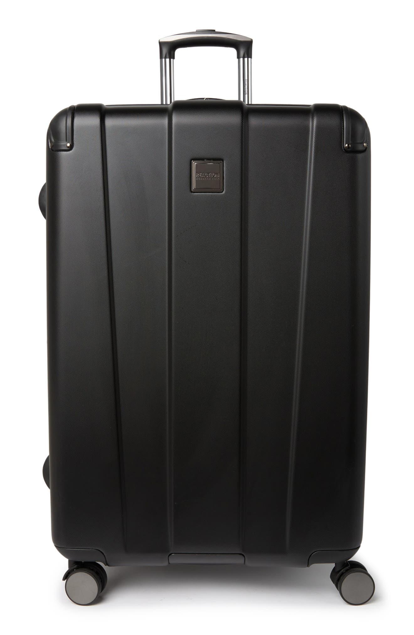 """Kenneth Cole Continuum 28"""" Lightweight Hardside 8-wheel Spinner Expandable Luggage In Black"""