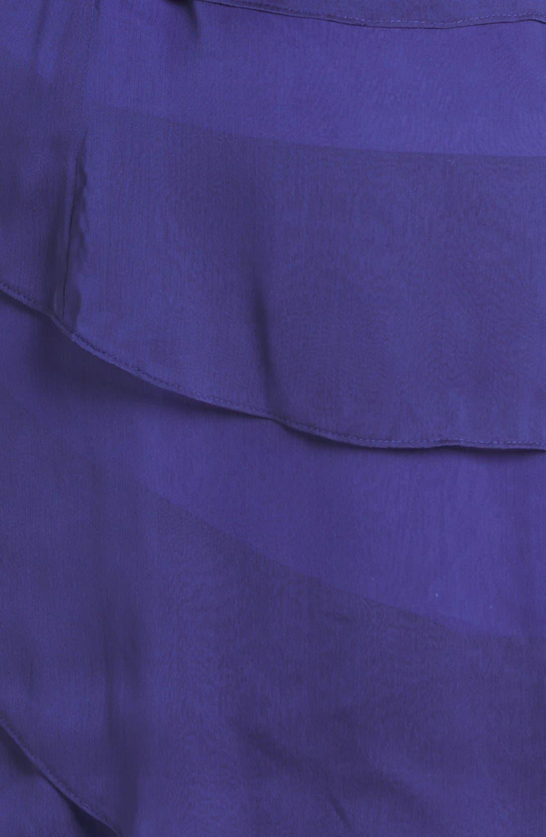 ,                             Tiered Chiffon Dress,                             Alternate thumbnail 32, color,                             450