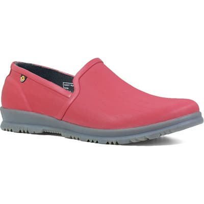 Bogs Sweetpea Waterproof Slip-On Sneaker, Red