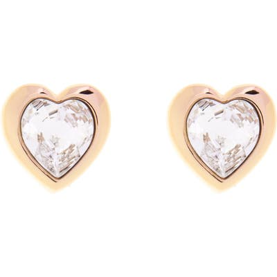 Ted Baker London Han Swarovski Crystal Heart Stud Earrings