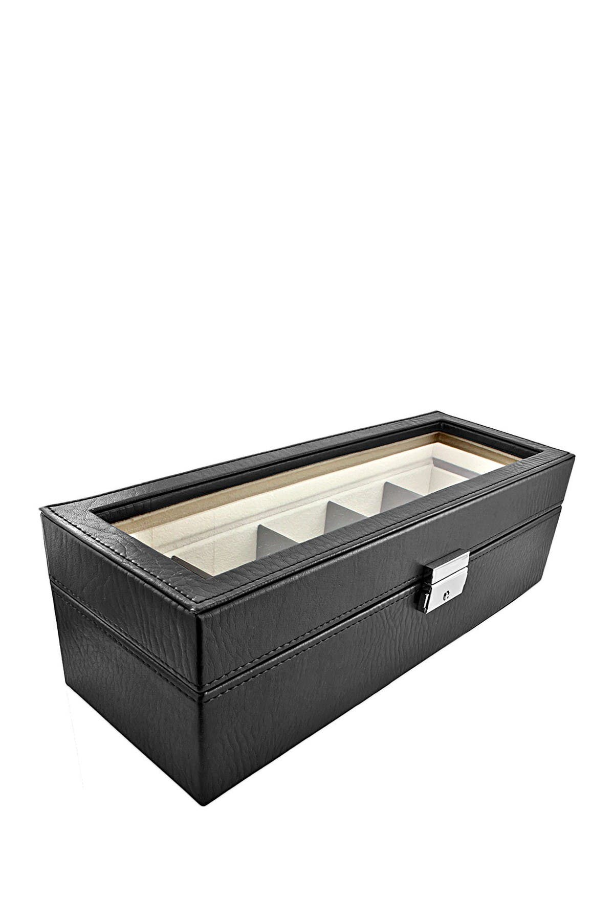 Image of JBW Faux Leather 5 Compartment Watch Case