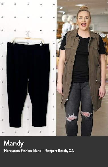 Rib Tapered Ankle Pants, sales video thumbnail