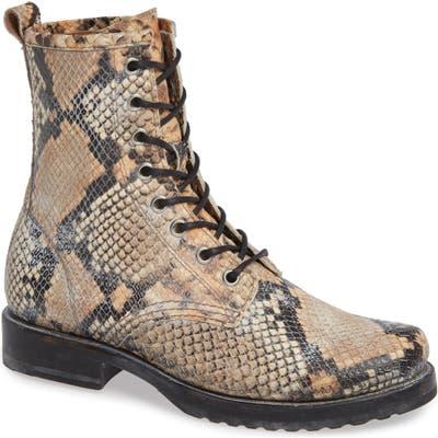 Frye Veronica Combat Boot, Brown