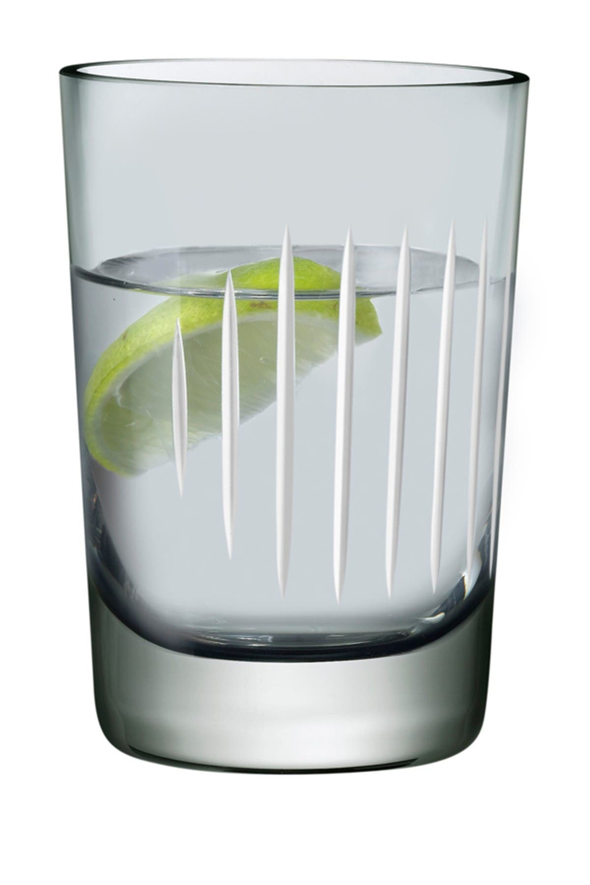 Image of Nude Glass Parrot Water Glasses - Smoke - Set of 2