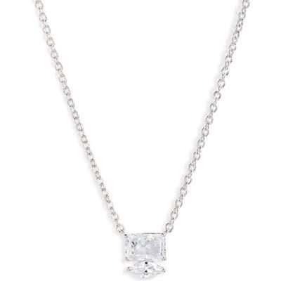 Nadri Rae Small Mixed Cubic Zirconia Pendant Necklace