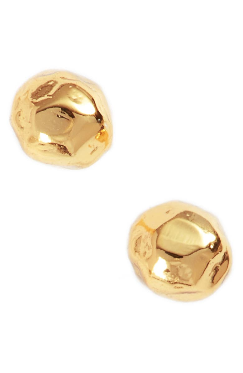 GORJANA Leucadia Mini Stud Earrings, Main, color, GOLD