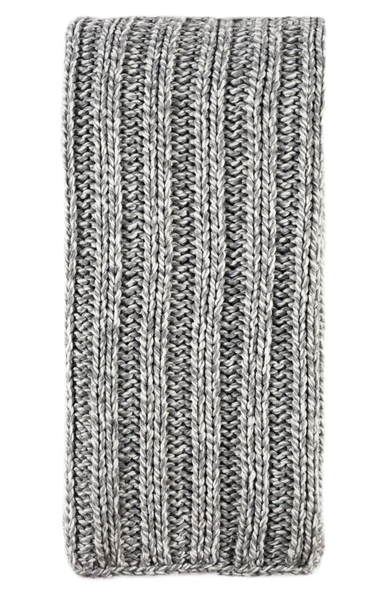 POM POM AT HOME Sven Oversize Throw Blanket, Main, color, GREY