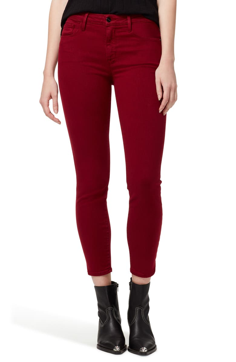 SANCTUARY Social Standard Crop Skinny Jeans, Main, color, 600