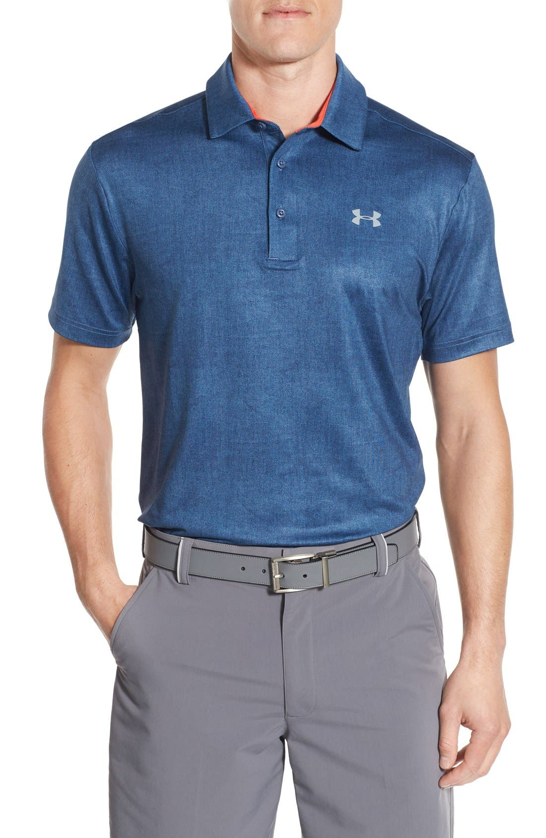 ,                             'Playoff' Loose Fit Short Sleeve Polo,                             Main thumbnail 325, color,                             483
