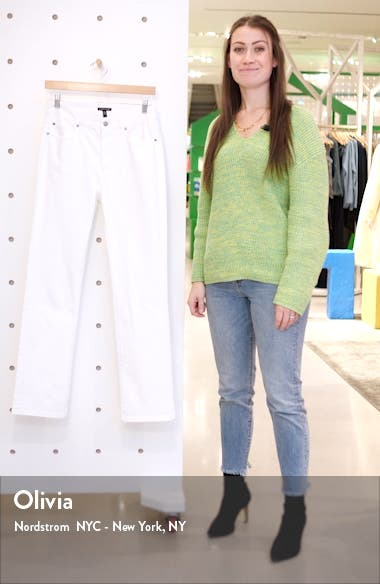 High Waist Organic Cotton Jeans, sales video thumbnail