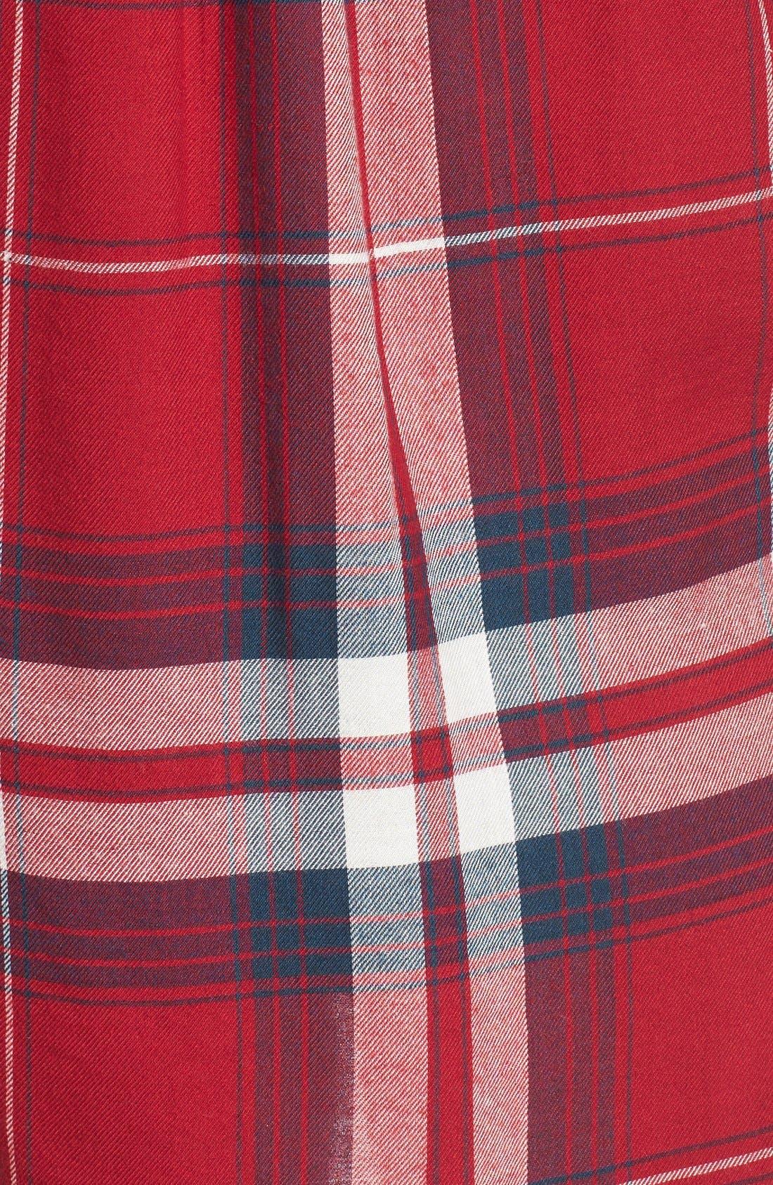 ,                             Plaid Tunic Shirt,                             Alternate thumbnail 37, color,                             610