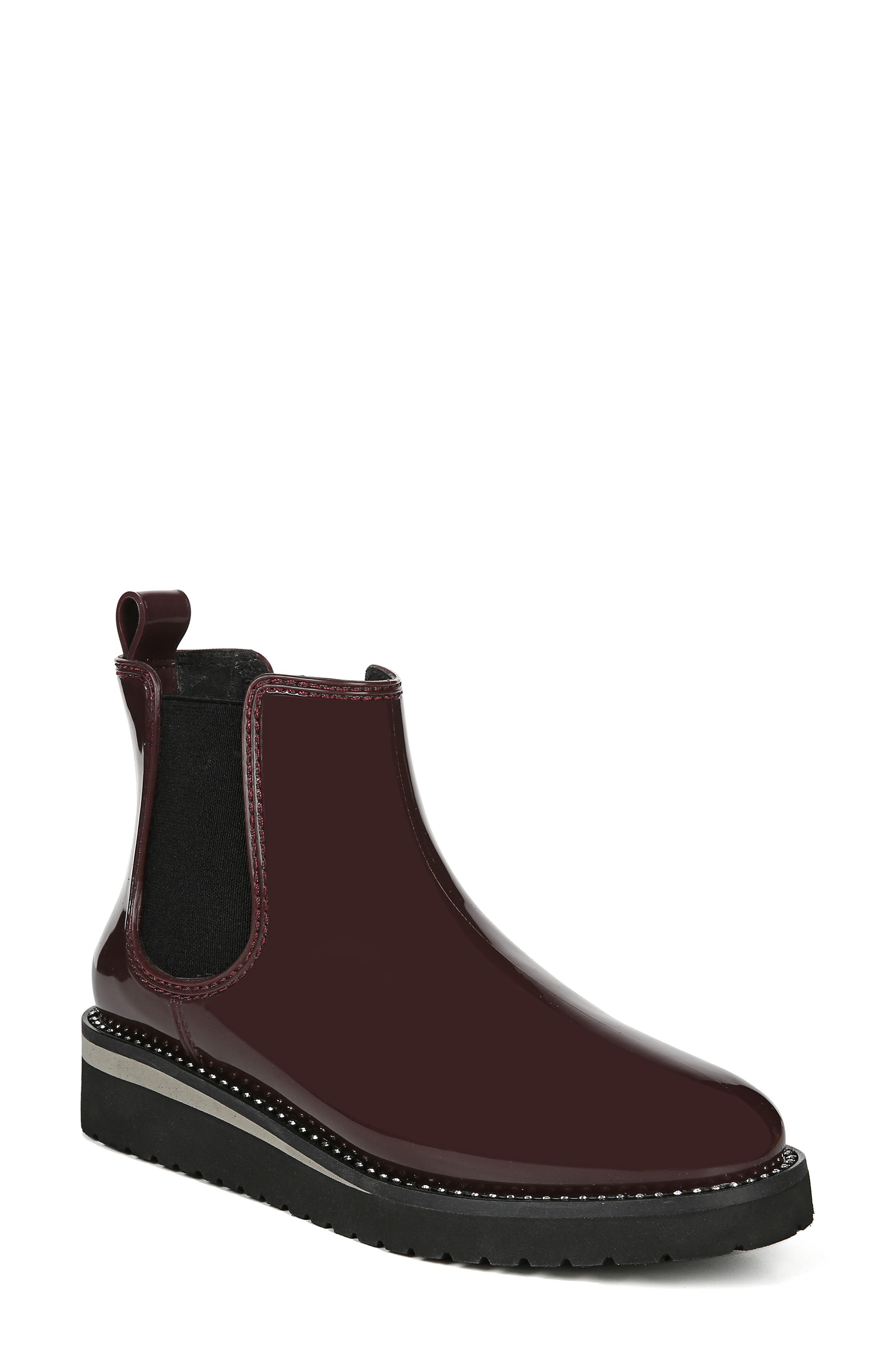 Naturalizer Luna Waterproof Chelsea Boot, Red