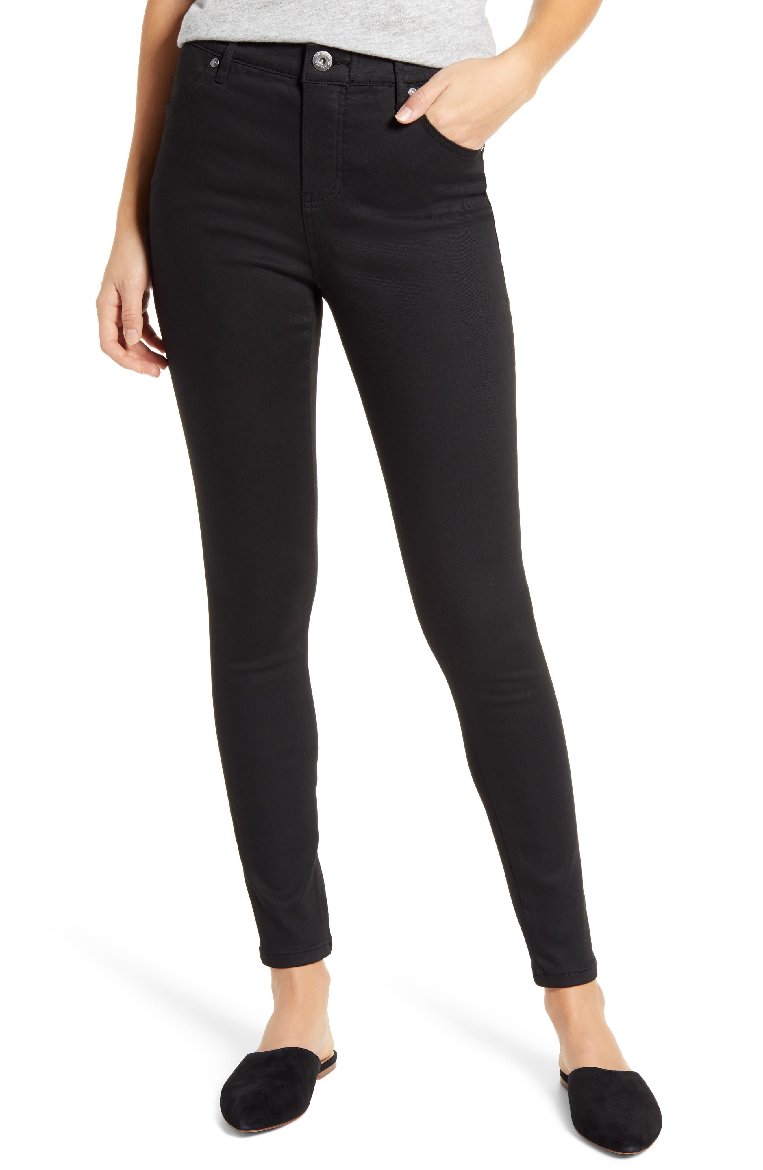 Valentina High Waist Ankle Skinny Jeans