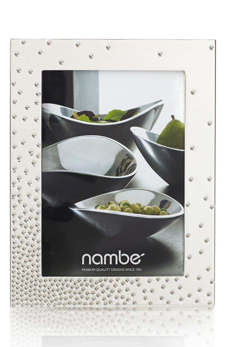 NAMBÉ Dazzle Picture Frame, Main, color, SILVER