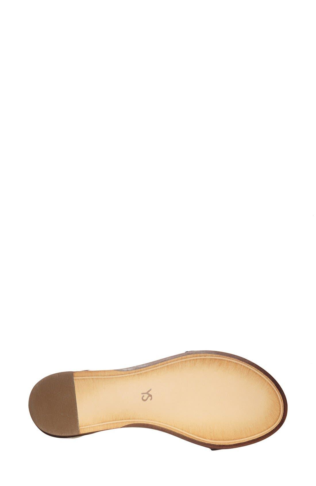 ,                             'Cambelle' Ankle Strap Sandal,                             Alternate thumbnail 8, color,                             003