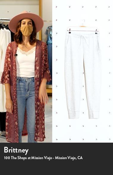 Thermal Fleece Tapered Pants, sales video thumbnail