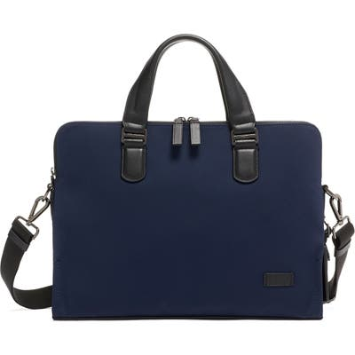 Tumi Harrison Seneca Slim Briefcase - Blue