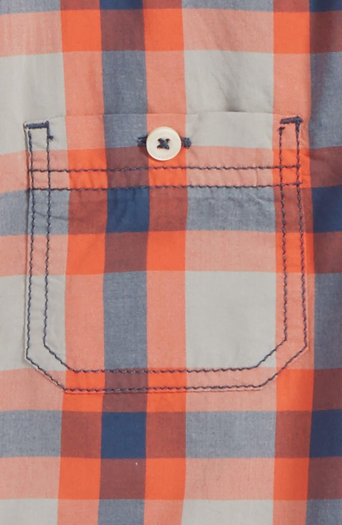 ,                             'Photo' Buffalo Plaid Woven Shirt,                             Alternate thumbnail 12, color,                             050
