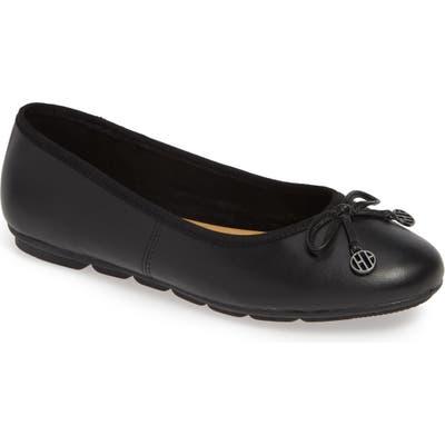 Hush Puppies Abbey Ballet Flat- Black