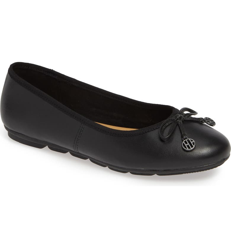 HUSH PUPPIES<SUP>®</SUP> Abbey Ballet Flat, Main, color, 001