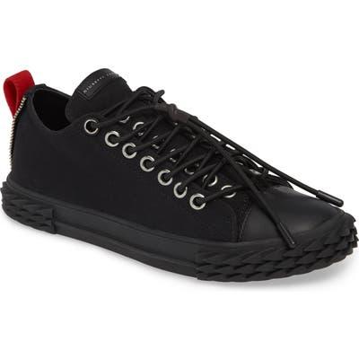Giuseppe Zanotti Mid Top Sneaker, Black