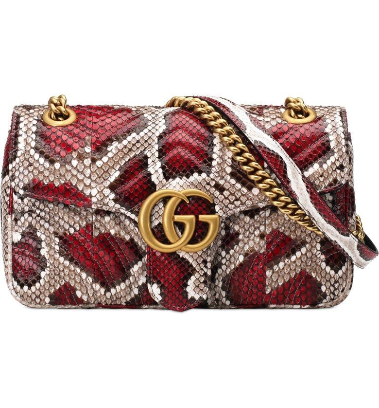 Gucci Marmont 2 0 Genuine Python