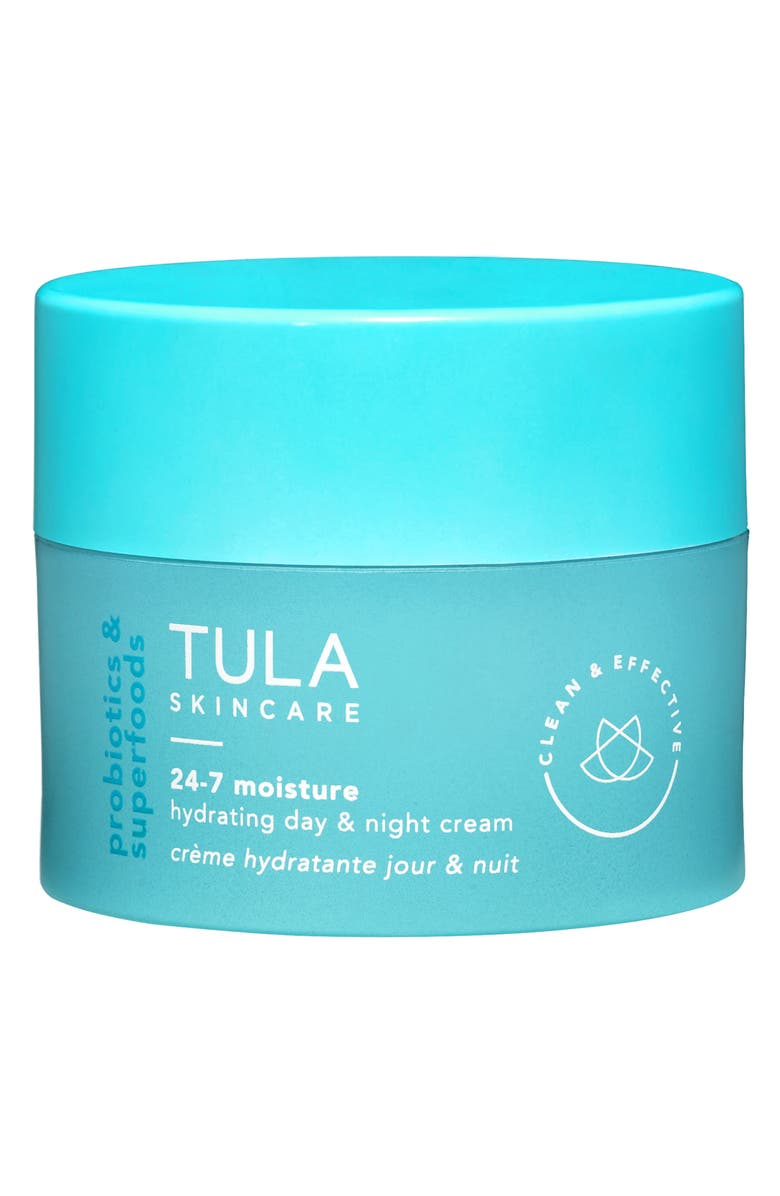 TULA SKINCARE TULA Probiotic Skincare 24-7 Moisture Hydrating Day & Night Cream, Main, color, NO COLOR