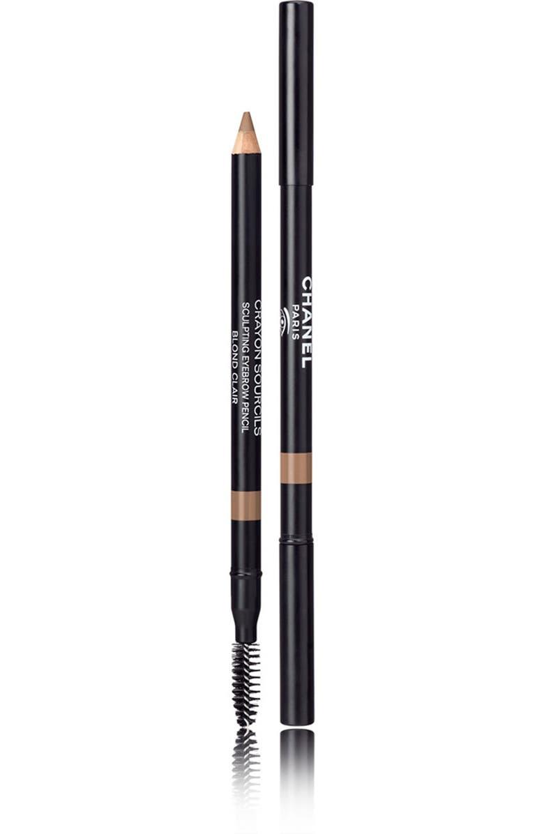 CHANEL CRAYON SOURCILS <br />Sculpting Eyebrow Pencil, Main, color, 10 BLOND CLAIR