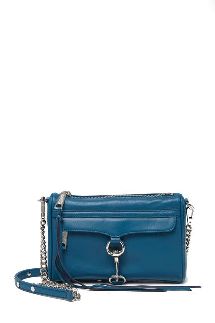 Image of Rebecca Minkoff Mini M.A.C. Leather Crossbody Bag