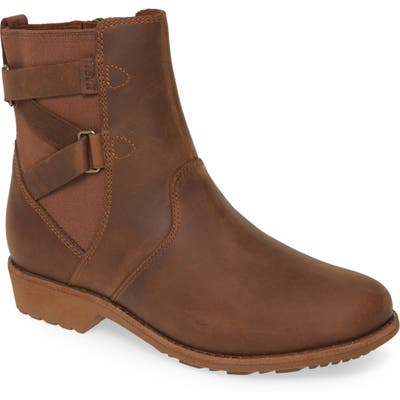 Teva Ellery Waterproof Bootie, Brown