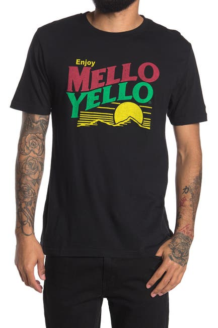 Image of American Needle Mello Yellow Graphic Crew Neck T-Shirt