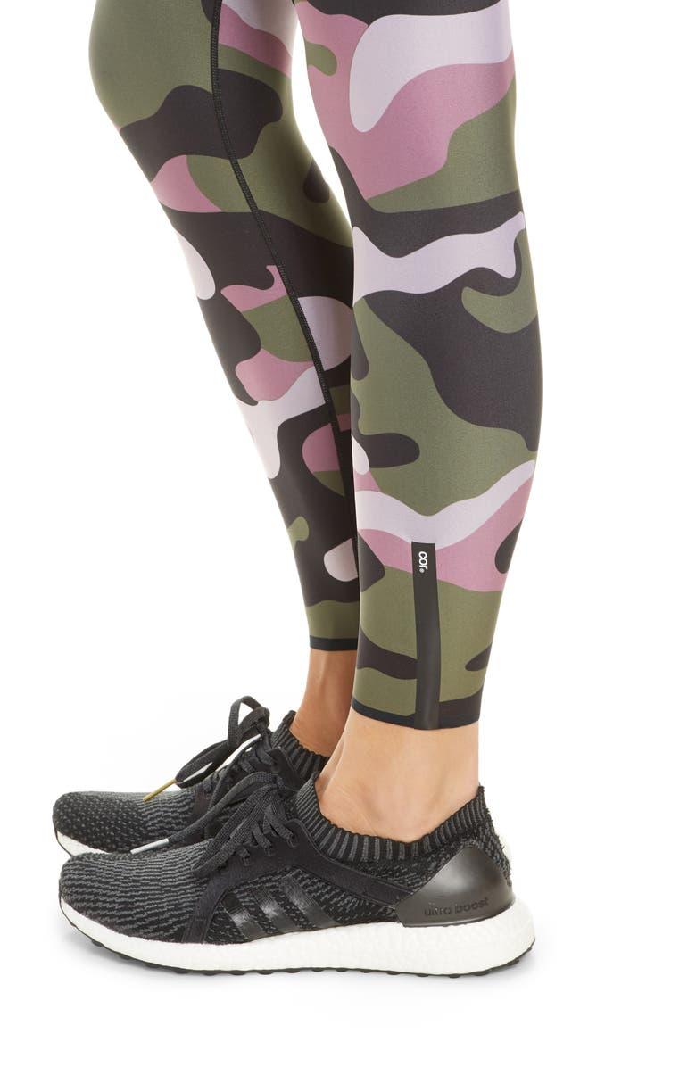 COR DESIGNED BY ULTRACOR Camo Leggings, Main, color, BLOSSOM