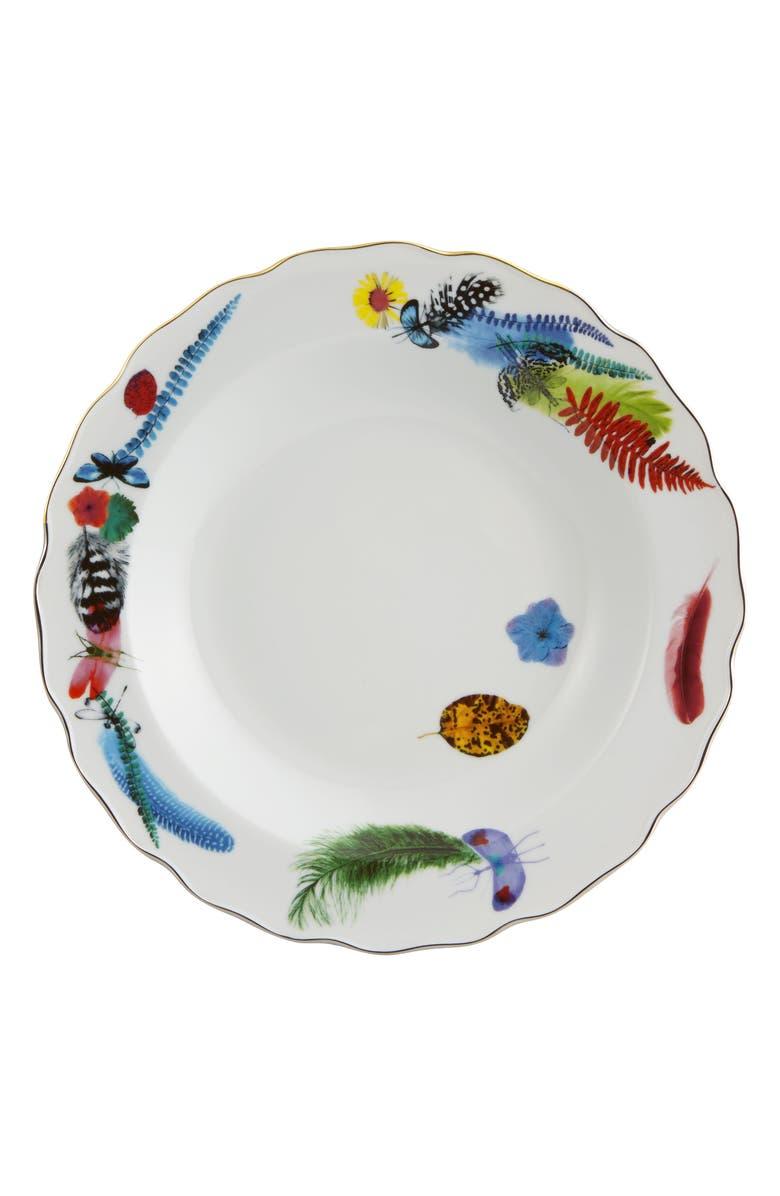 CHRISTIAN LACROIX Caribe Soup Plate, Main, color, WHITE