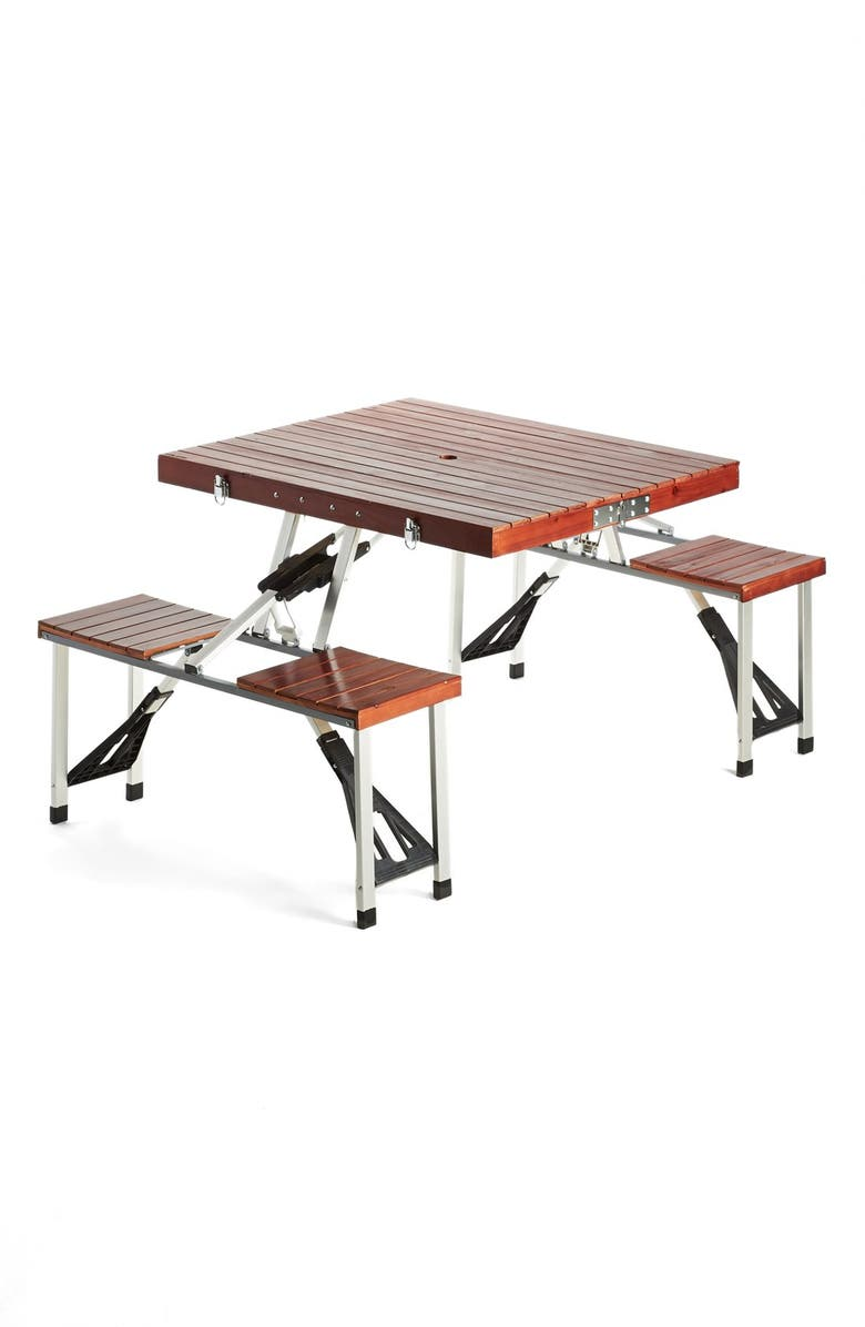 Amazing Classic Artisan Style Wood Picnic Table Nordstrom Home Interior And Landscaping Staixmapetitesourisinfo