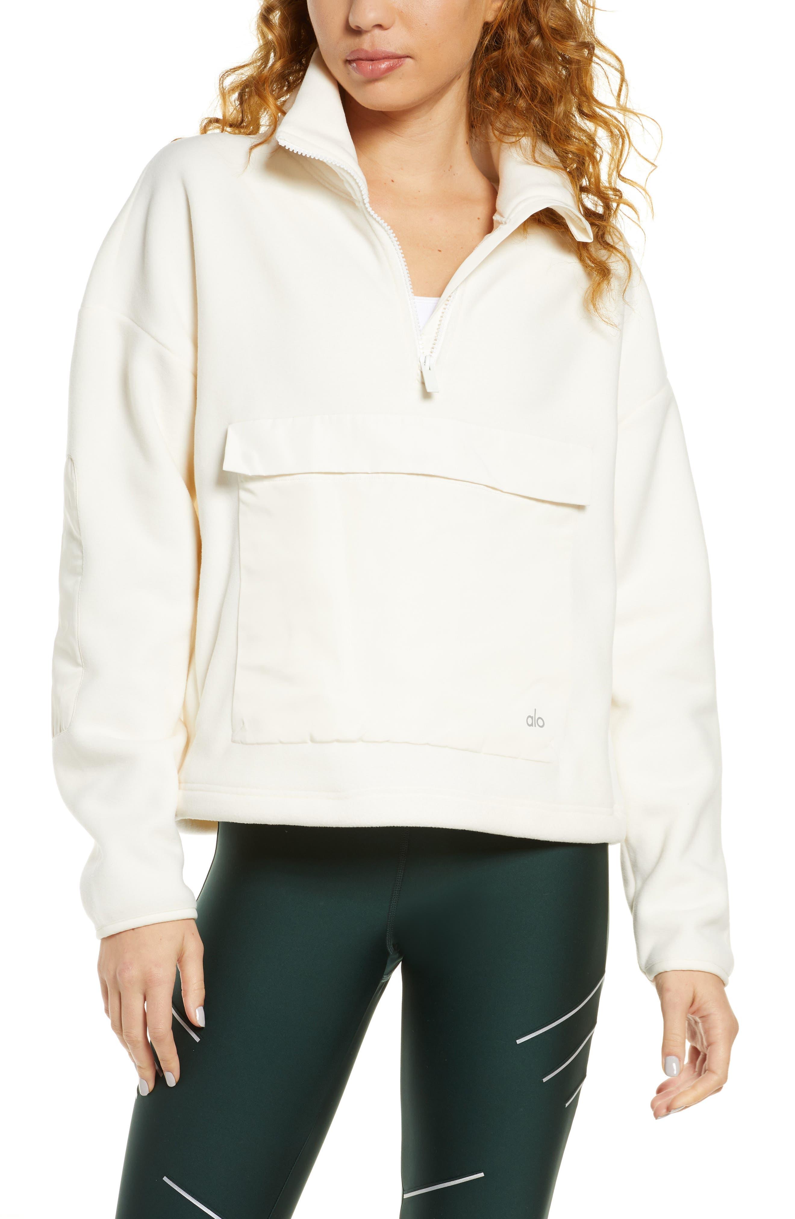 Alo Blackcomb Polar Fleece Half Zip Pullover