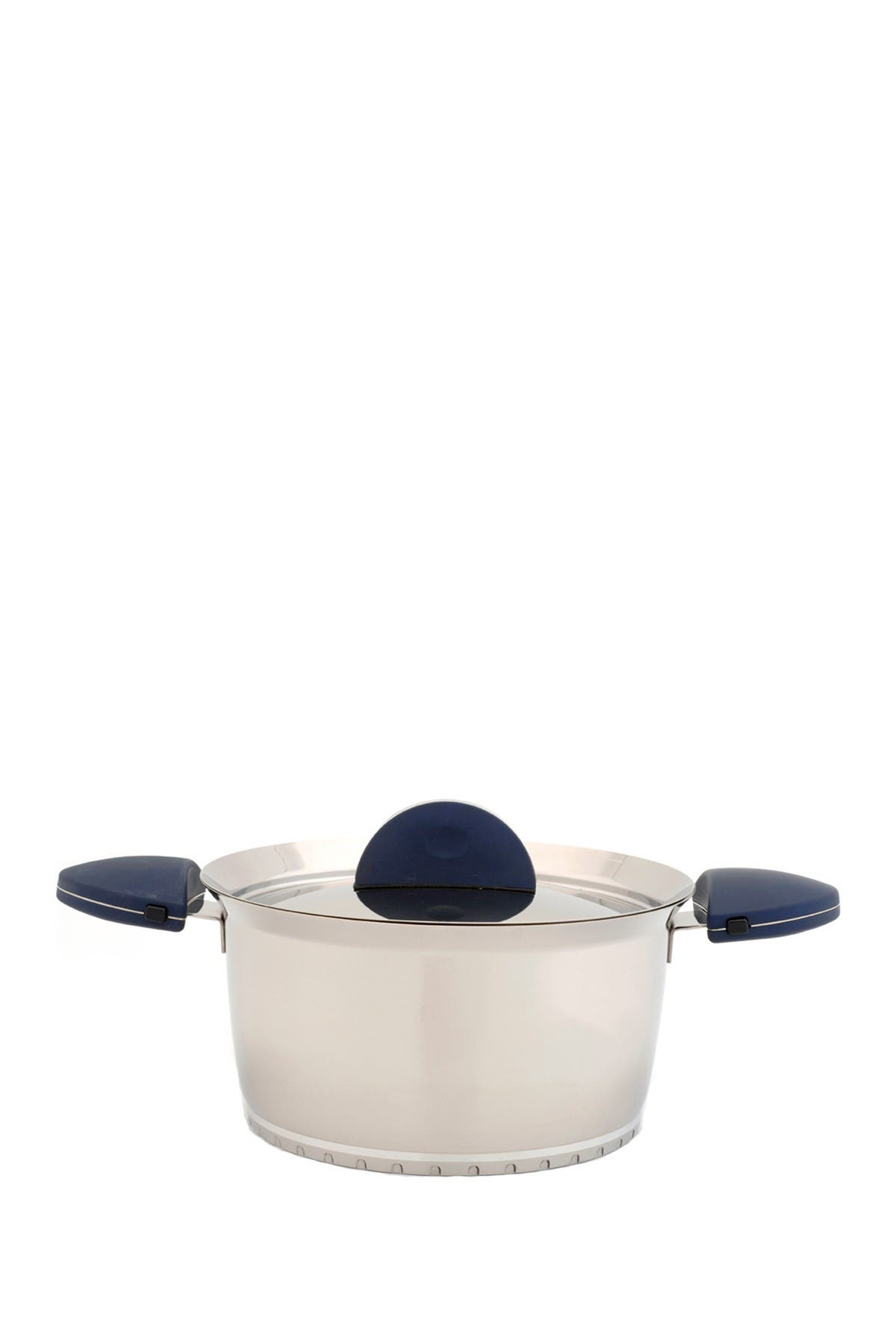 """Image of BergHOFF Blue Stacca 10"""" Covered Stock Pot"""
