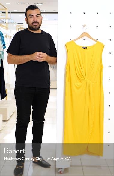 Drape Front Midi Dress, sales video thumbnail