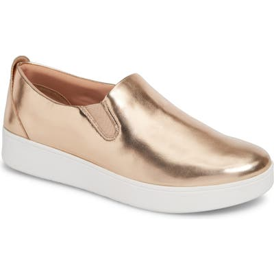 Fitflop Sania Metallic Skates Slip-On Sneaker, Metallic