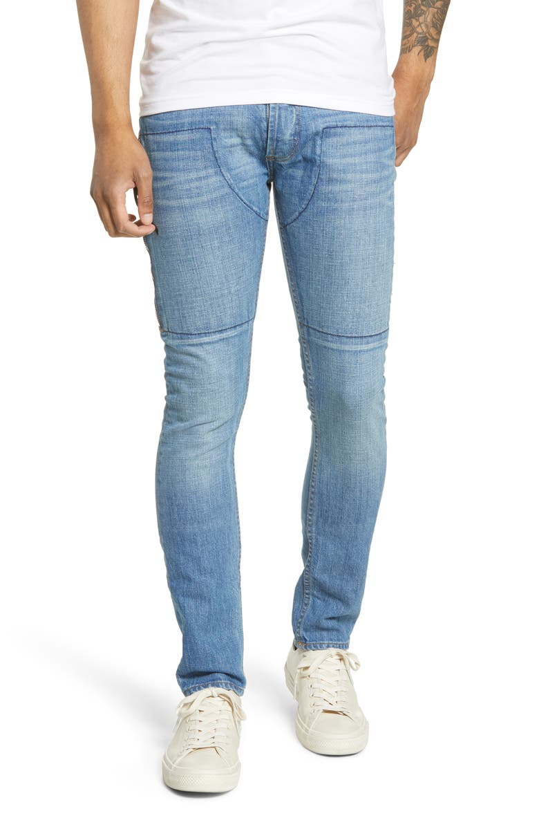 MRCLA Trafford Slim Straight Leg Jeans, Main, color, VINTAGE STONE