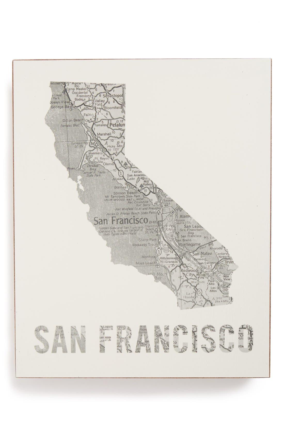 ,                             City Map Wall Art,                             Main thumbnail 36, color,                             053