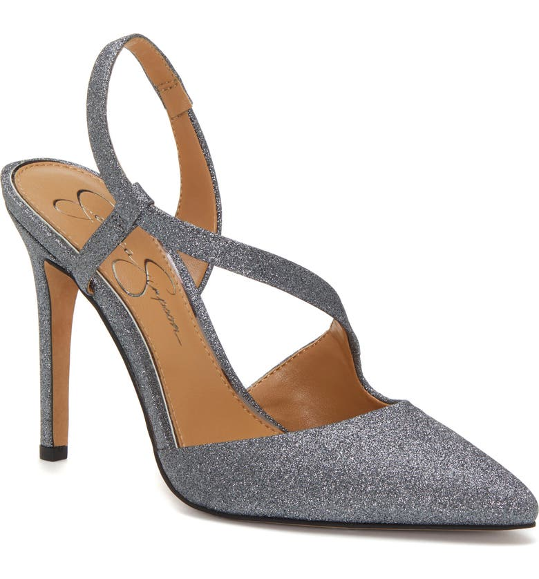 JESSICA SIMPSON Paselle Pump, Main, color, PEWTER