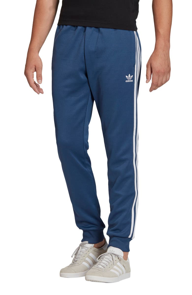 ADIDAS Superstar Track Pants, Main, color, NIGHT MARINE