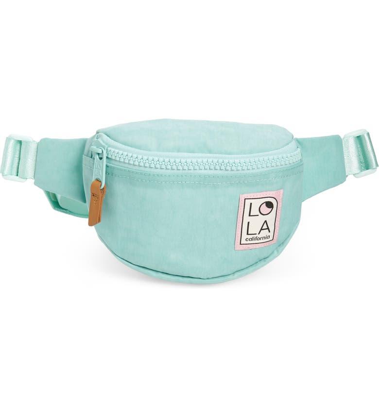 Lola Los Angeles Moonbeam Belt Bag by Lola Lodis Los Angeles