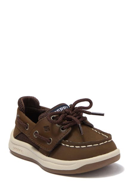 Image of Sperry Convoy Jr. Leather Boat Shoe