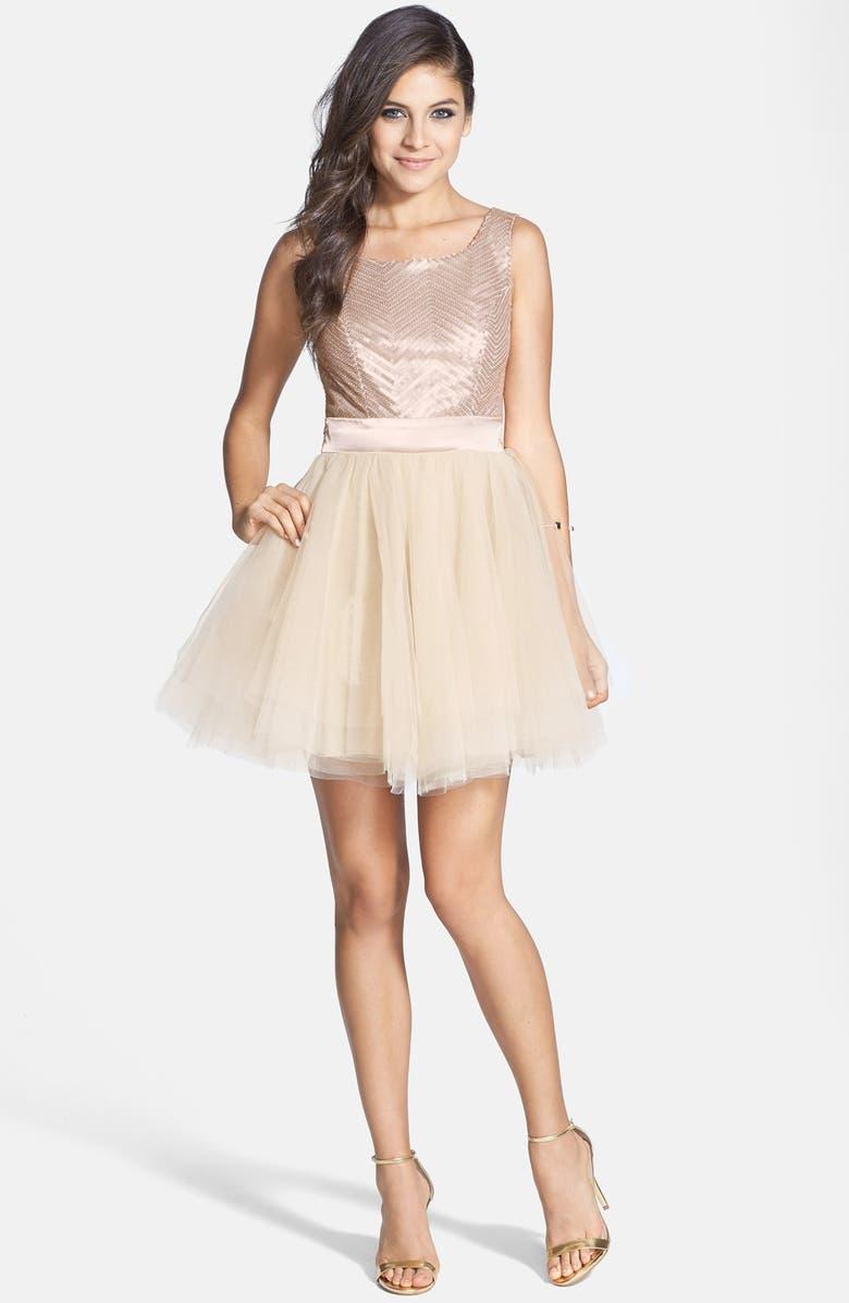 Sequin Ballerina Dress