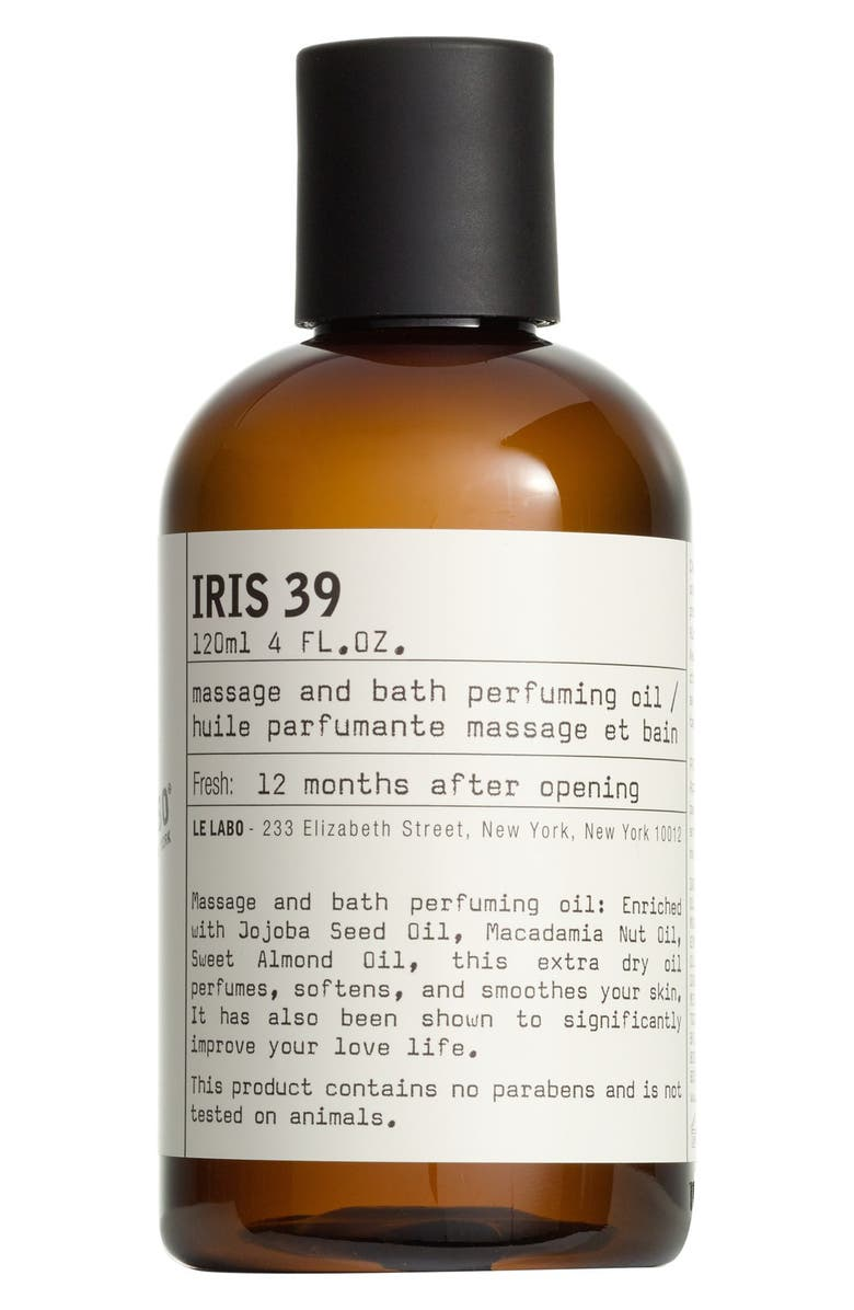 LE LABO 'Iris 39' Body Oil, Main, color, NO COLOR