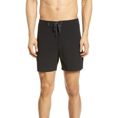 Hurley Phantom Brooks Street Board Shorts, Black