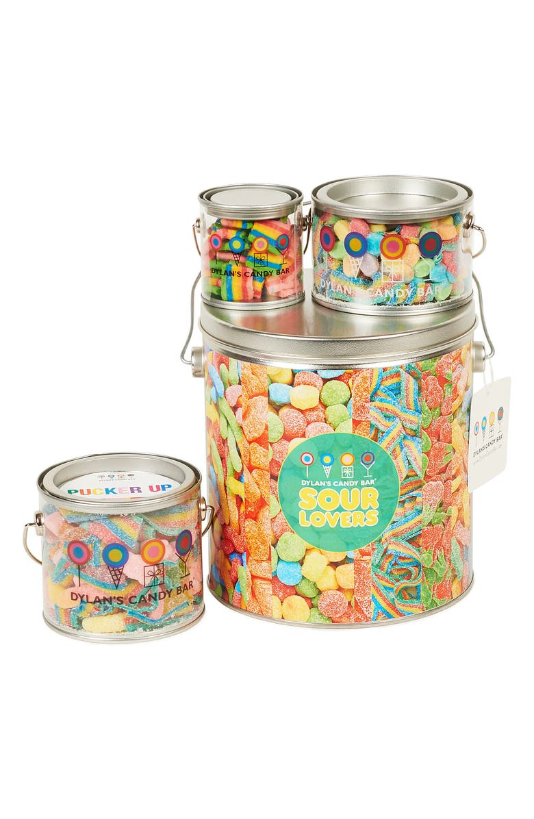 DYLAN'S CANDY BAR Sour Lovers Bucket, Main, color, MULTI