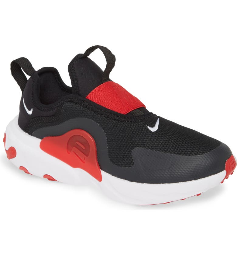 NIKE React Presto Extreme Sneaker, Main, color, BLACK/ WHITE/ RED