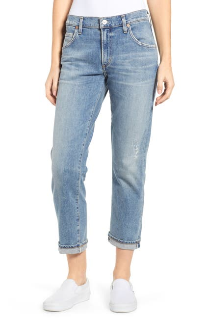 Image of Citizens Of Humanity Emerson Crop Slim Fit Boyfriend Jeans